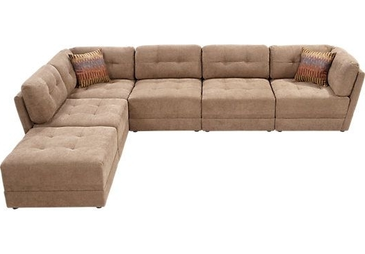 Widely Used Rooms To Go Sectional Sofas With Regard To Shop For A Cozumel 6 Pc Truffle Sectional At Rooms To Go Find Sofa (View 10 of 10)