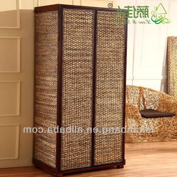 Widely Used Seagrass Wardrobe, Seagrass Wardrobe Suppliers And Manufacturers Inside Rattan Wardrobes (View 15 of 15)