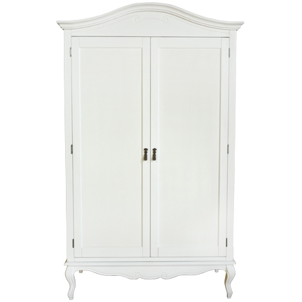 Widely Used Shabby Chic White Bedroom Furniture, Bedside Tables, Dressing Regarding Antique White Wardrobes (View 14 of 15)