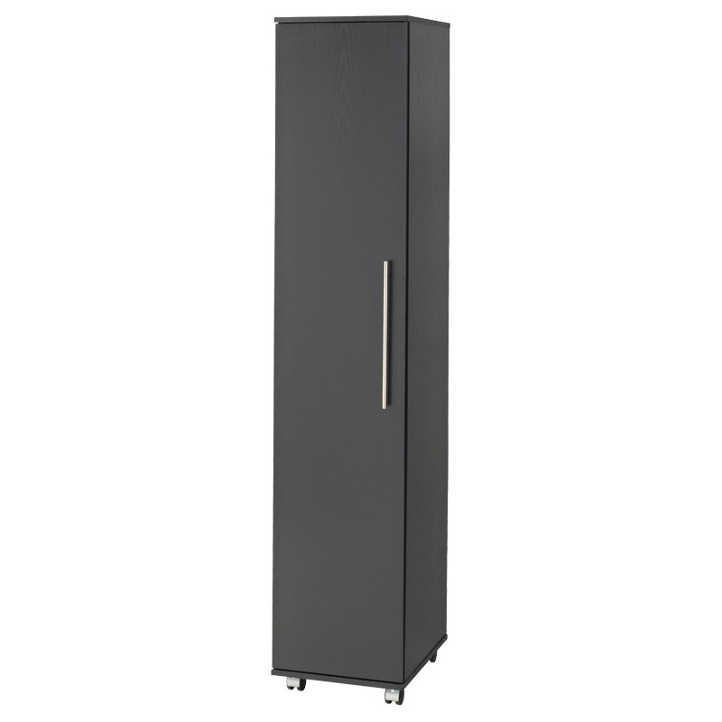 Widely Used Single Black Wardrobes With Bobby Single Door Wardrobe – Brixton Beds (View 15 of 15)