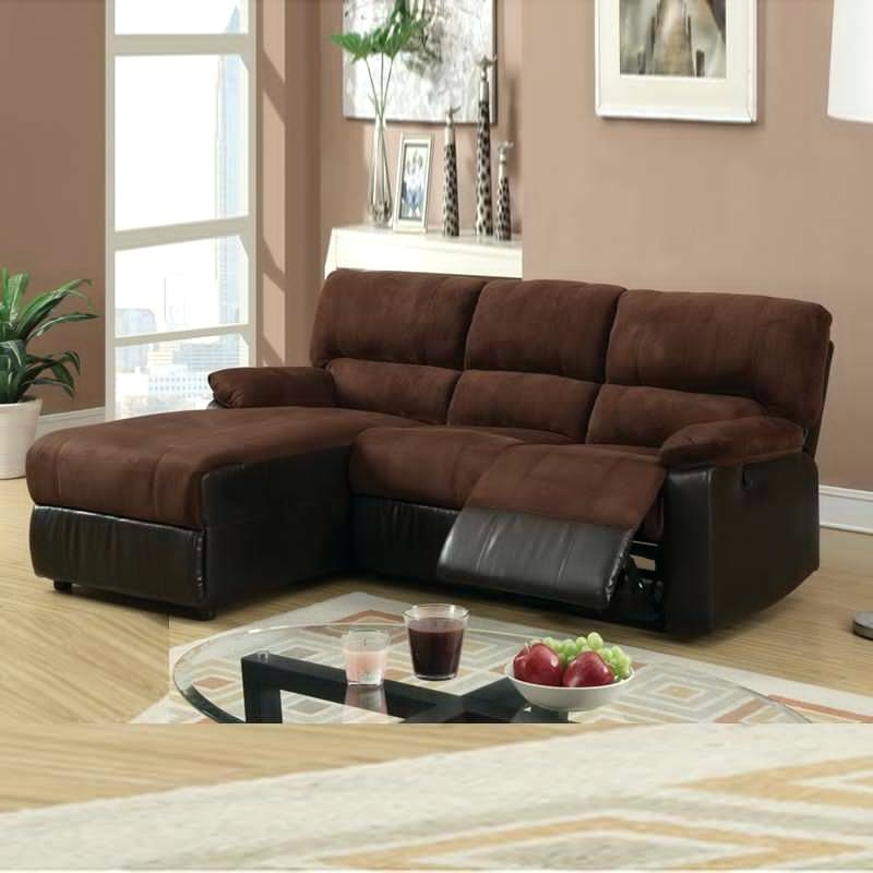 Widely Used Small Sectional Sofa With Chaise Small Sectionals With Chaise And Inside Sectionals With Chaise And Recliner (View 15 of 15)