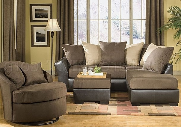 Widely Used Sofas With Oversized Pillows With Regard To Scatter Back Modern Sectional Sofa W/oversized Back Pillows (View 10 of 10)