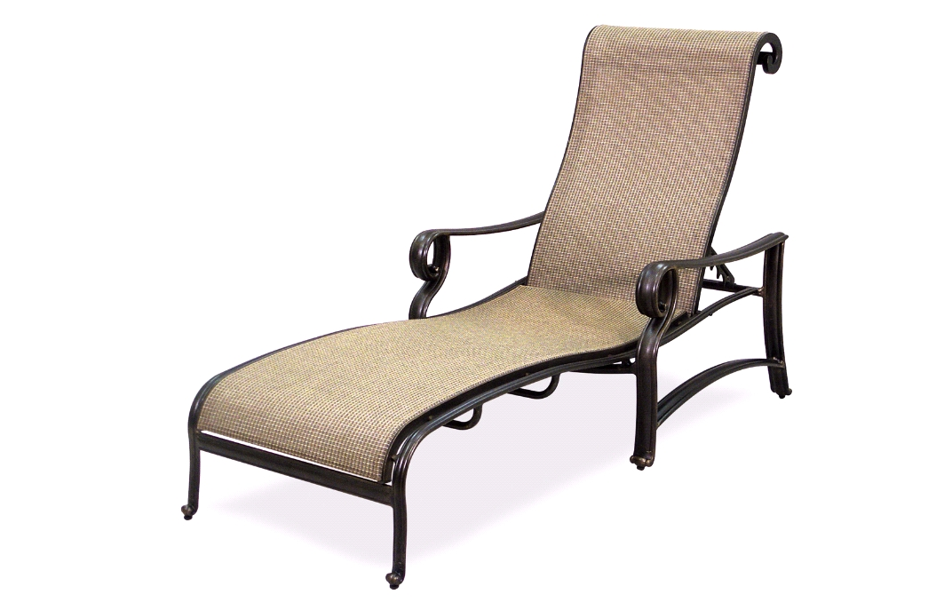 Widely Used Terrific Incredible Four Seasons Courtyard Concord Sling Chaise With Sam's Club Outdoor Chaise Lounge Chairs (View 15 of 15)