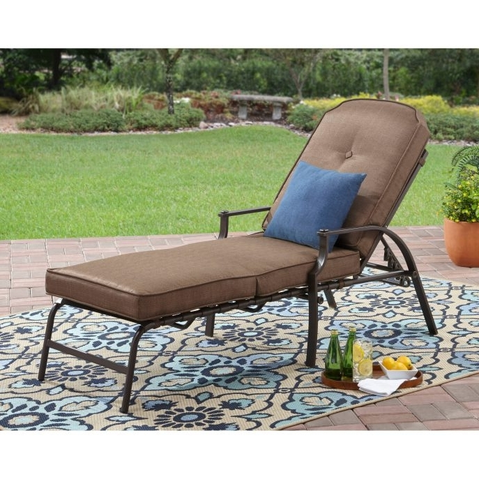 Widely Used Walmart Outdoor Chaise Lounges With Outdoor : Clearance Patio Furniture Double Chaise Lounge Walmart (View 15 of 15)