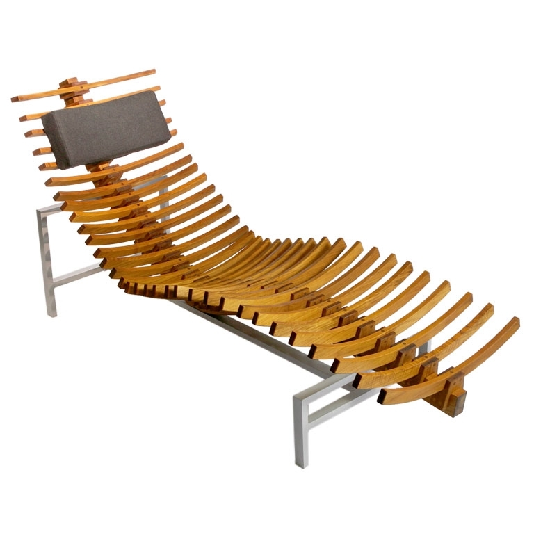 Wonderful Wood Chaise Lounge Chairdesign Plans For Wood Chaise Intended For Favorite Wood Chaise Lounges (View 7 of 15)