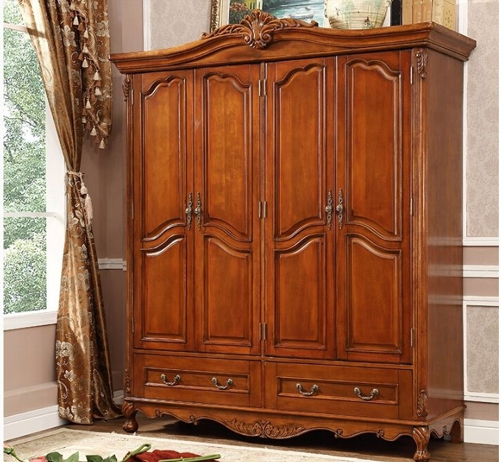 Wood Wardrobes Regarding Most Recently Released Best Solid Wood Wardrobes (View 3 of 15)