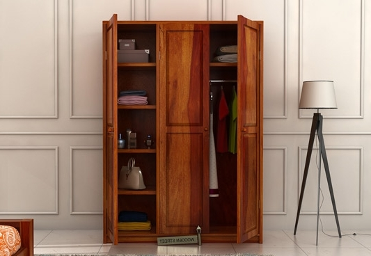 Wooden Wardrobes Pertaining To Recent Selecting Best Wooden Wardrobe For Your Home – Pickndecor (View 15 of 15)