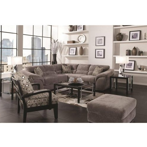 Woodhaven Ritz Collection Includes: Sofa, Ottoman, Coffee Table, 2 Throughout 2017 Sectional Sofas At Aarons (View 10 of 10)
