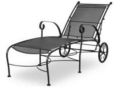 Wrought Iron Chaise Lounges With Regard To Well Known Wrought Iron Patio Furniture – Patioliving (View 15 of 15)