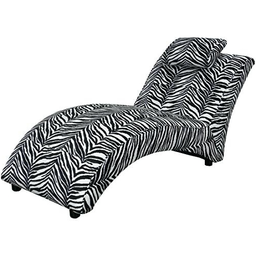 Zebra Chaise Lounge Chair Zebra Chaise Lounge Animal Print Stylish With Regard To Most Popular Zebra Print Chaise Lounge Chairs (View 12 of 15)
