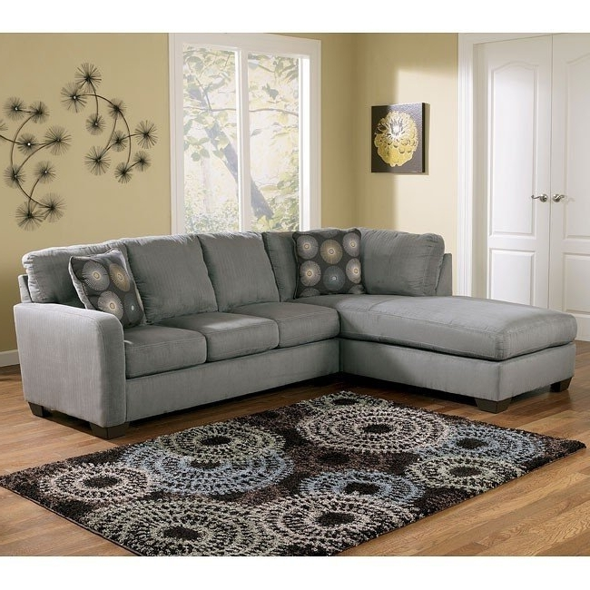 Zella – Charcoal Left Facing Chaise Sectional Signature Design With Fashionable Right Facing Chaise Sectionals (View 5 of 15)