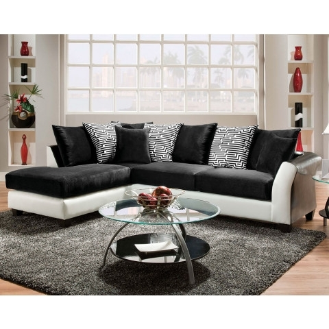 Zigzag 2 Piece Sectional (Gallery 7 of 10)
