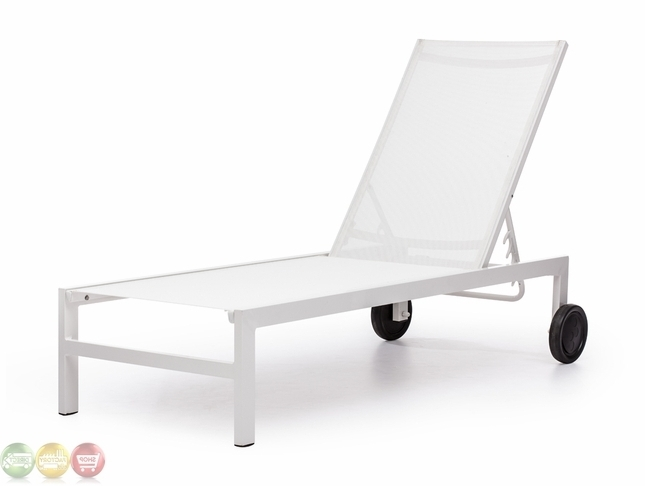 Featured Photo of White Outdoor Chaise Lounge Chairs