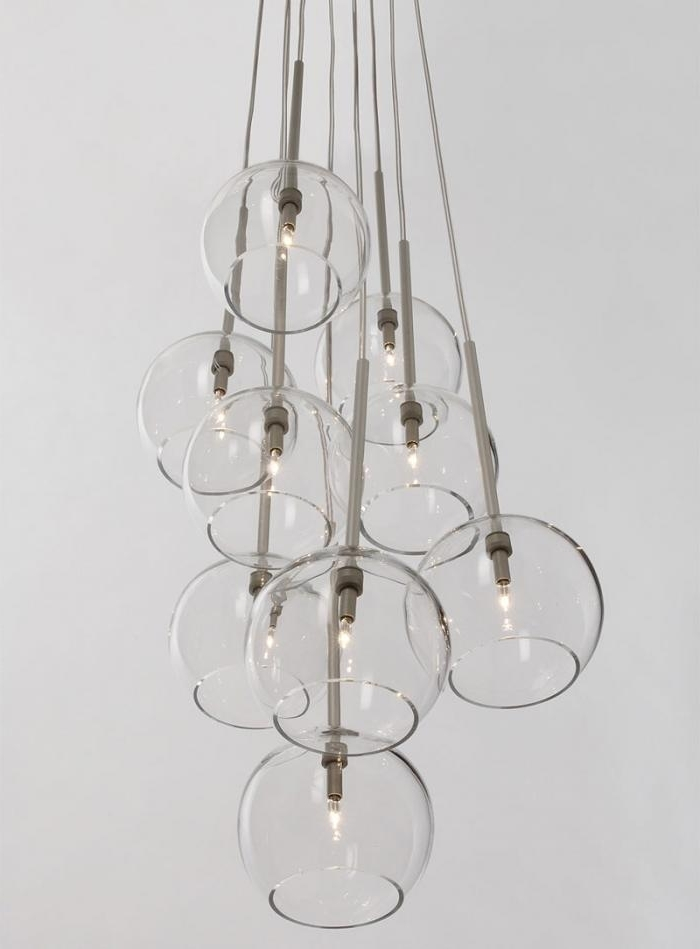 10 Easy Pieces: Modern Glass Globe Chandeliers – Remodelista Intended For Most Recently Released Globe Chandeliers (View 1 of 10)