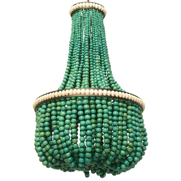 16 Best Beaded Chandeliers Images On Pinterest (View 5 of 10)