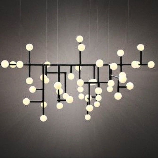 164 Best Modern Chandeliers – Large, Contemporary Light Fixtures Intended For Most Current Modern Light Chandelier (Gallery 6 of 10)