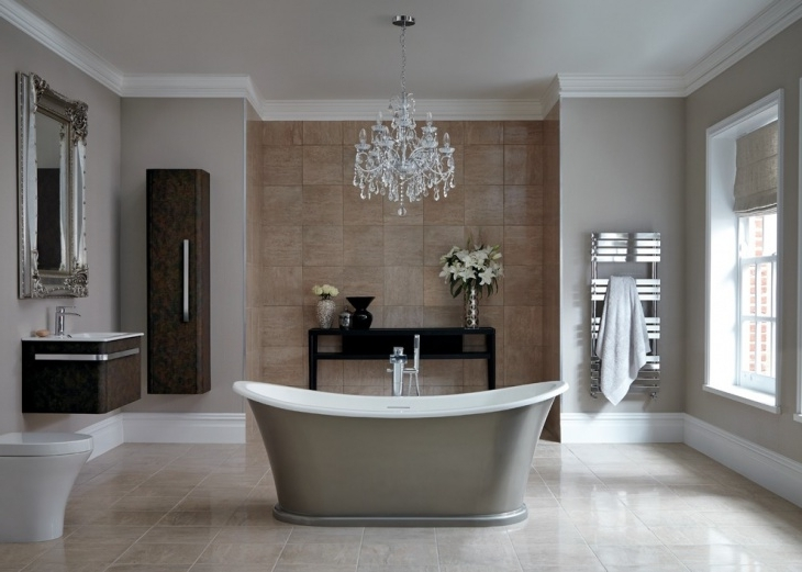 20+ Bathroom Chandelier Designs, Decorating Ideas (View 1 of 10)