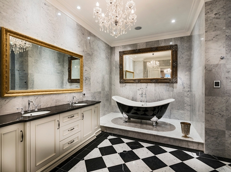 20 Gorgeous Bathroom Crystal Chandeliers (View 1 of 10)