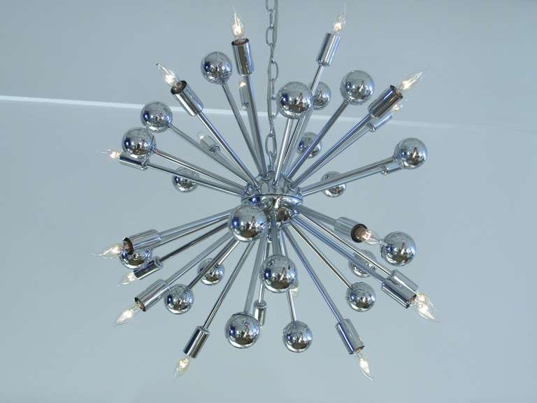 2017 Chrome Sputnik Chandeliers Inside Home Design : Endearing Chrome Sputnik Chandelier X Home Design (View 1 of 10)