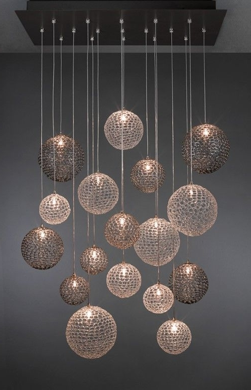 2017 Elegant Modern Glass Chandelier 17 Best Ideas About Blown For Within Contemporary Modern Chandelier (View 2 of 10)