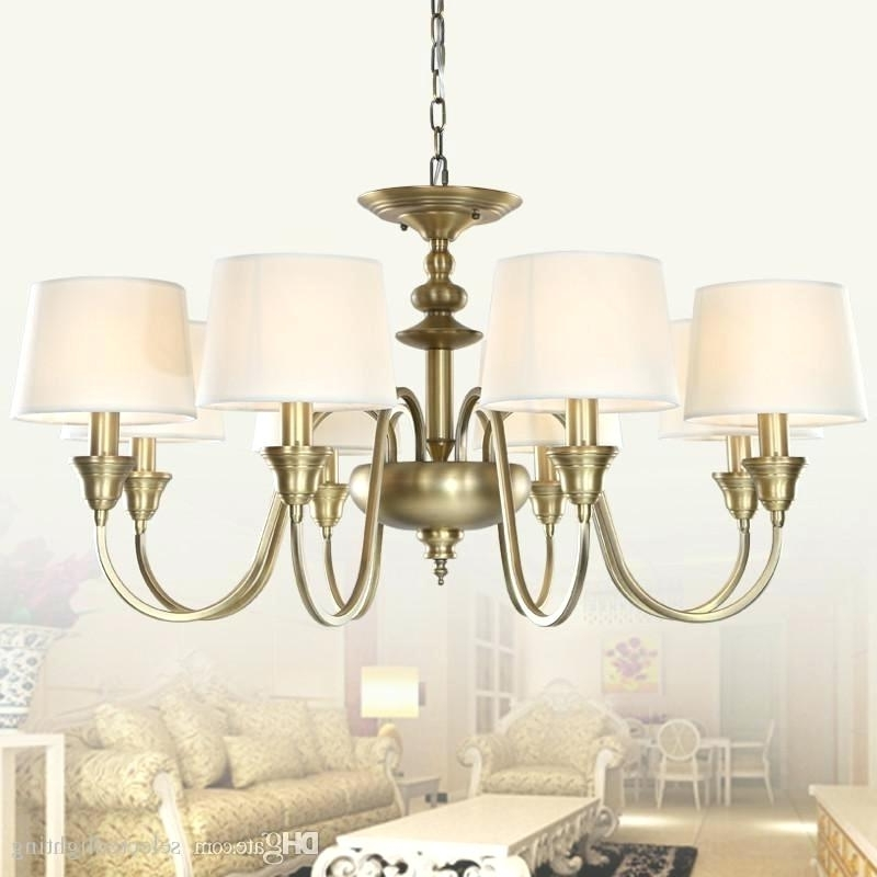 2017 Lamp Shade Chandelier Mini Drum Lamp Shades For Chandeliers Intended For Lampshades For Chandeliers (View 6 of 10)