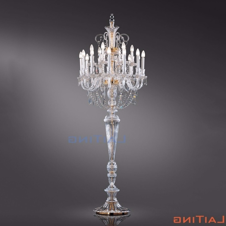 2017 Standing Chandeliers Intended For Crystal Chandelier Floor Standing Lamp, Crystal Chandelier Floor (View 1 of 10)