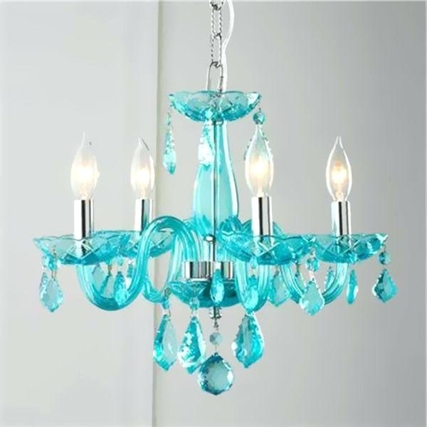 2017 Turquoise Glass Chandelier Lighting With Turquoise Chandelier Brilliance Lighting And Chandeliers Glamorous  (View 1 of 10)