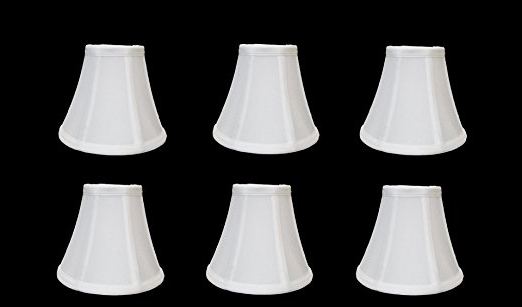 2017 Urbanest 1100329C Chandelier Lamp Shades 6 Inch, Bell, Clip On Throughout Chandelier Lamp Shades (View 10 of 10)