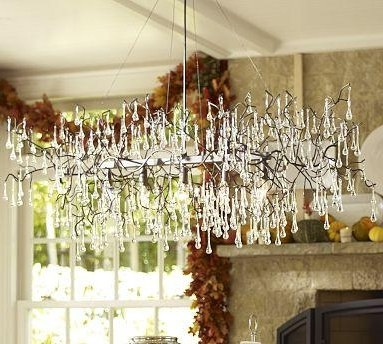 2018 Branch Chandelier – Pottery Barn In Lucinda Branch Chandelier (View 1 of 10)