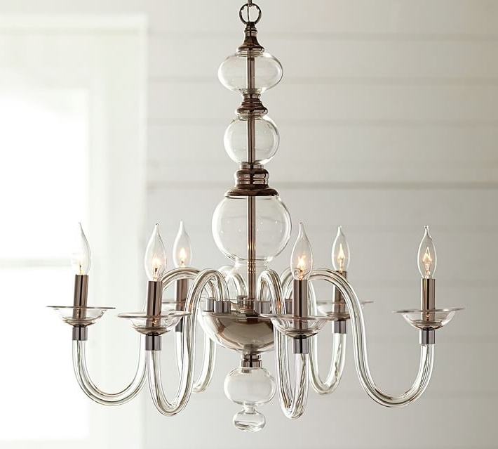 2018 Glass Chandeliers Regarding Blown Glass Chandelier (View 10 of 10)