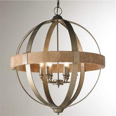 2018 Home Design : Metal Sphere Chandelier Metal Sphere Crystal Intended For Metal Sphere Chandelier (View 2 of 10)