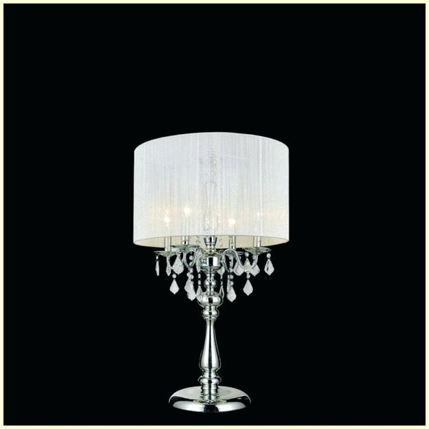 2018 Lamp: Mini Chandelier Table Lamp Chandeliers Green Crystal Base Gold Regarding Mini Chandelier Table Lamps (View 2 of 10)