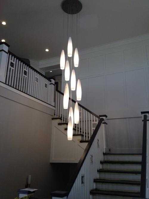 Featured Photo of Stairway Chandelier