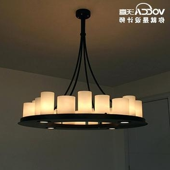 Featured Photo of Modern Wrought Iron Chandeliers