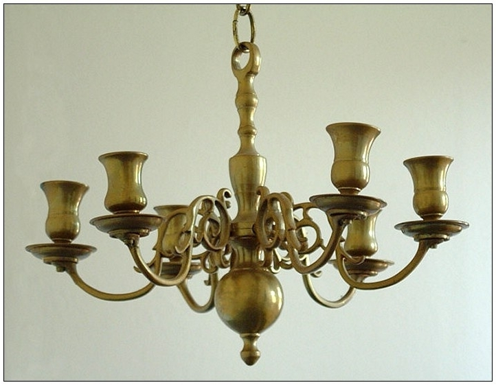2018 Old Brass Chandelier For Home Design : Good Looking Old Brass Chandelier Home Design Old (View 1 of 10)