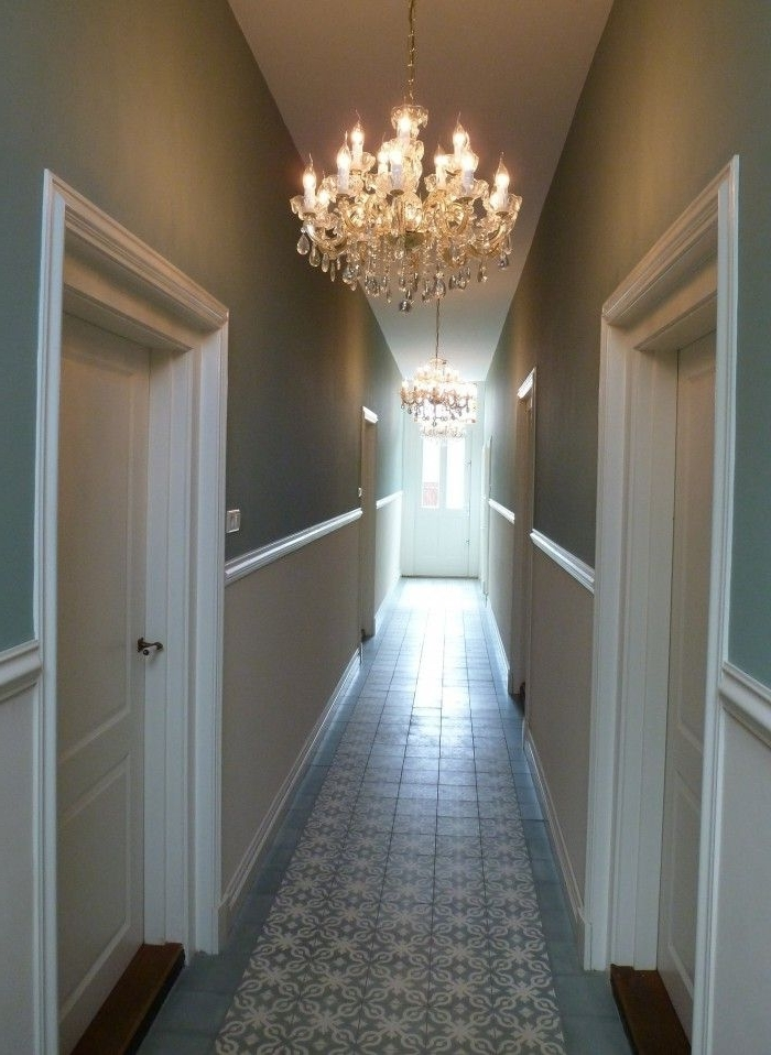 2018 Small Hallway Chandeliers Pertaining To Modern Country Style: Ten Effective Decorating Ideas For Small (View 2 of 10)