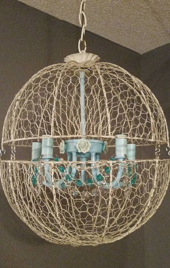 267 Best Chandeliers And Light Fixtures Images On Pinterest Regarding Well Known Turquoise Orb Chandeliers (Gallery 5 of 10)