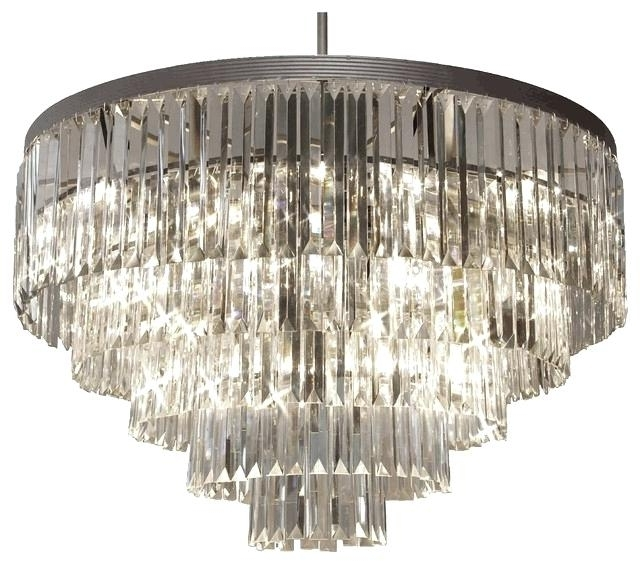 3 Tier Crystal Chandelier S Odeon Fringe Lighting – Boscocafe Intended For Fashionable 3 Tier Crystal Chandelier (View 3 of 10)