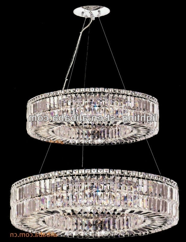 3 Tier Crystal Chandelier With 2018 Oxshott 3 Tier Crystal Chandelier Laura Ashley 2 Dramatic 24 Light (View 4 of 10)