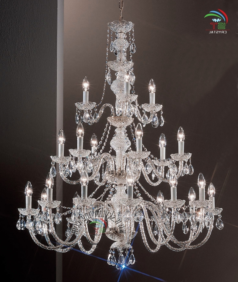 3 Tiered Crystal Chandelier Wholesale, Crystal Chandelier Suppliers In Most Popular 3 Tier Crystal Chandelier (View 5 of 10)