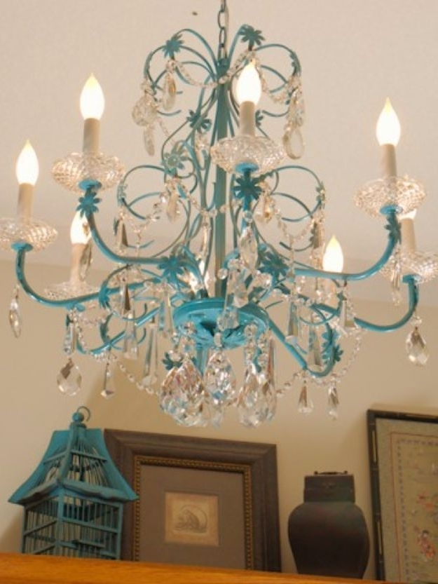 33 Cool Diy Chandelier Makeovers To Transform Any Room (Gallery 5 of 10)