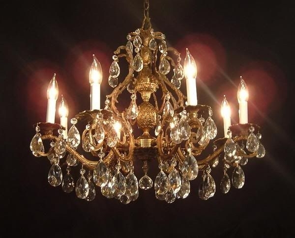 41 Best Antique Chandeliers Images On Pinterest (Gallery 5 of 10)