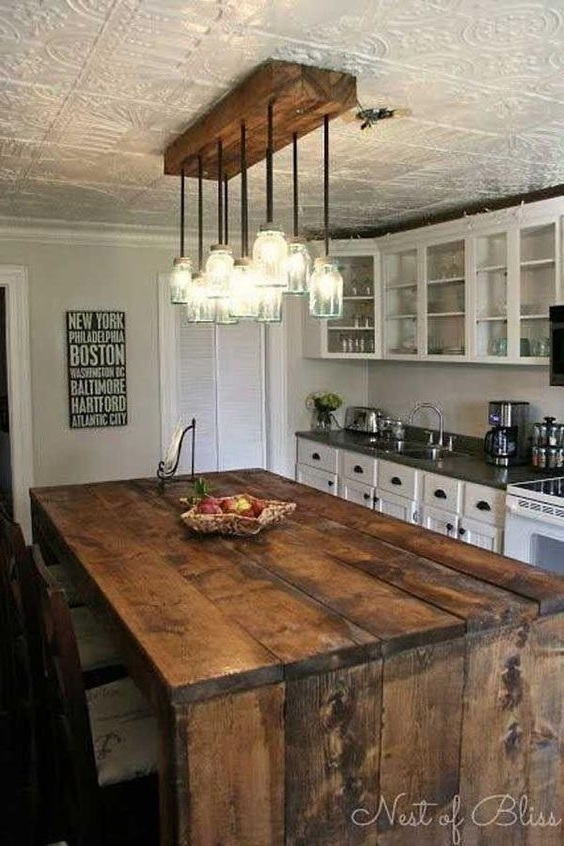 Amazing Best 25 Rustic Light Fixtures Ideas On Pinterest Edison With Latest Small Rustic Kitchen Chandeliers (View 8 of 10)