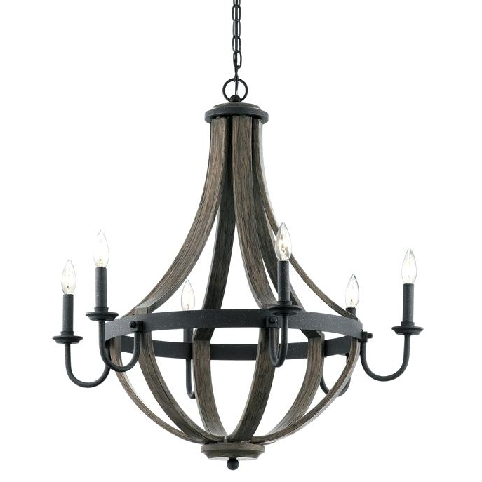 Antique Black Chandelier With Regard To Newest Lowes Crystal Chandeliers Chandelier Outstanding Chandelier At (View 4 of 10)