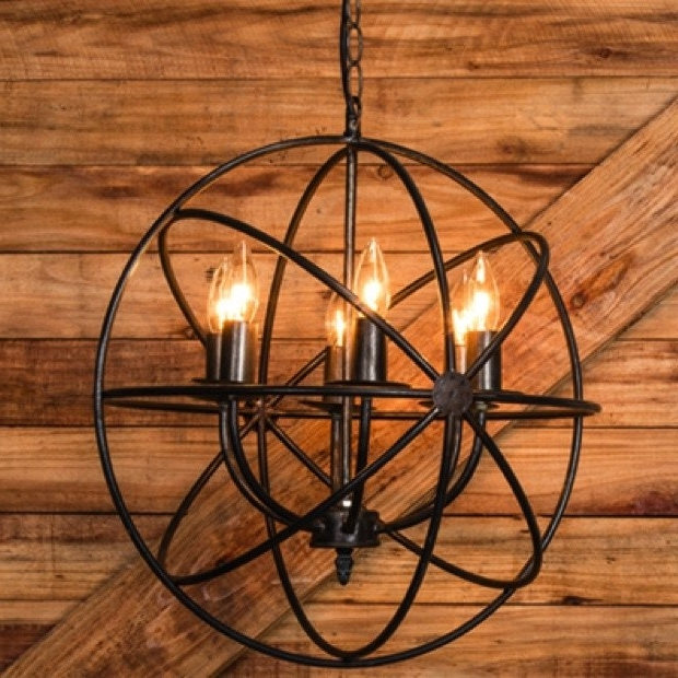 Featured Photo of Metal Sphere Chandelier