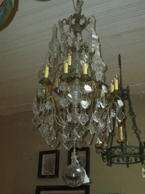 Antique French Chandeliers Intended For Widely Used Antique Crystal Iron Chandeliers Antique French Chandelier – Flc (View 4 of 10)