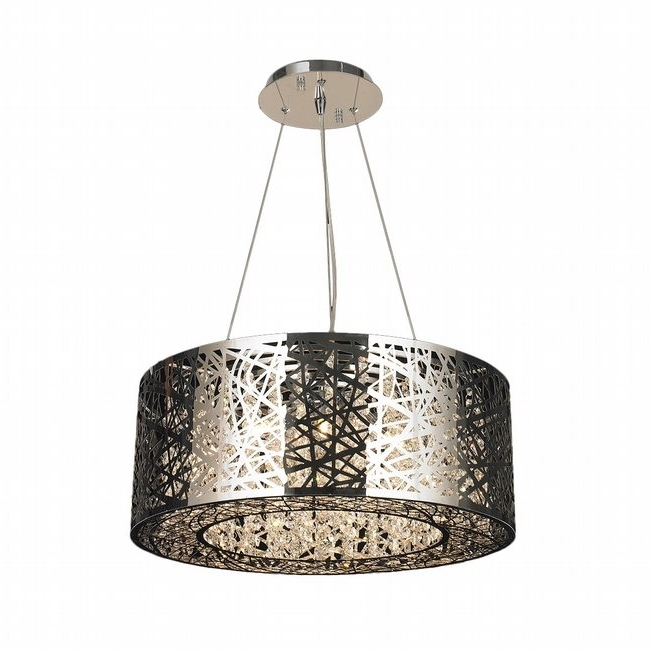 Aramis 12 Light Chrome Finish Led Crystal Chandelier With Favorite Chrome Chandeliers (View 1 of 10)