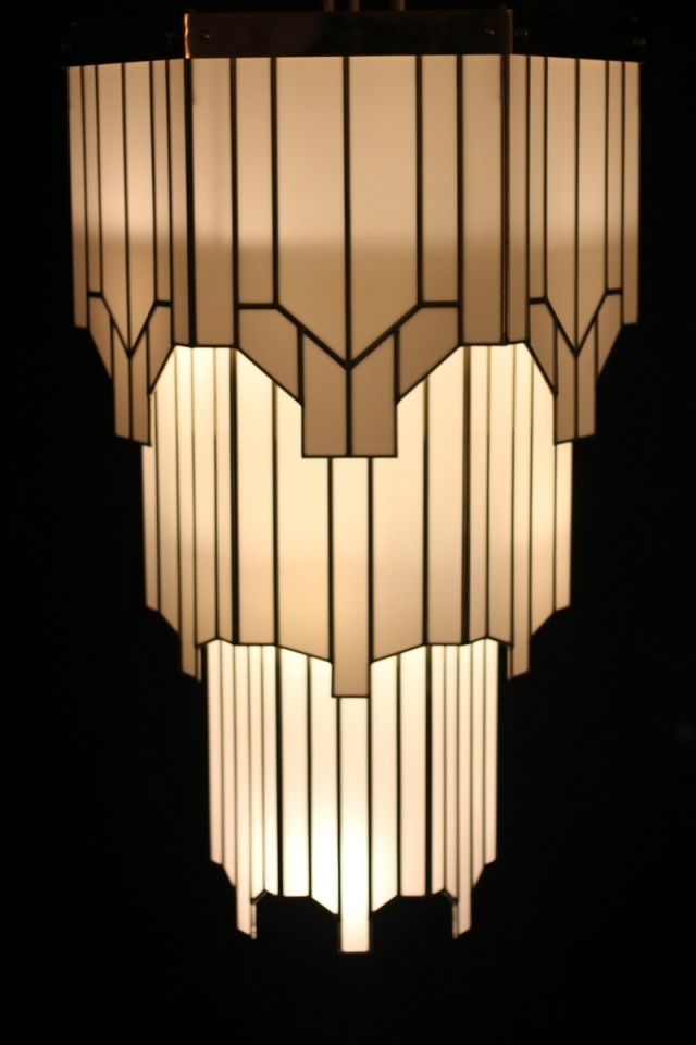 Art Deco Chandeliers Pertaining To Most Recently Released Art Deco Chandelier Spectacular Zig Zag Movie Theater – Golfocd (View 4 of 10)