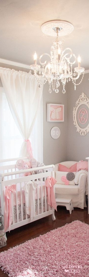 Ba Nursery Decor Start Overhaul Girl Chandeliers For Stylish With 2018 Chandeliers For Baby Girl Room (View 1 of 10)