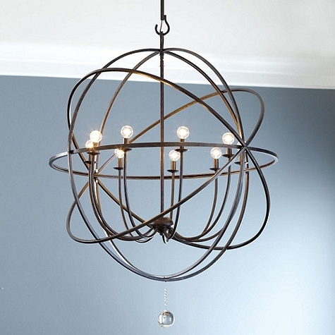 Ballard Design – Family Room Chandelier (View 1 of 10)